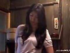 Cougar Fingering Herself Having Orgasm On The Floor In The Kitchen
