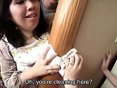 Subtitled Asian risky bang-out with voluptuous mother in law