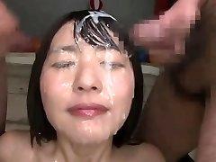 Asian bukkake queen