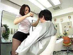 Avs-museum100438 Erotic Mini Mini-skirt Barber Reiko Nakamori Sc1 Uncensored