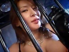 Best Japanese woman Rei Kitajima in Crazy Money-shots, Blowjob JAV clip