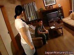 Insatiable japanese mature babes sucking part4