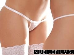 NubileFilms - Best pals lesbian seduction