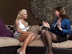 Outstanding Lesbian Mature & Milf xxx scene