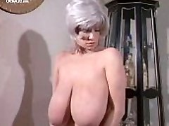 Huge-chested Huge-titted Morgan nude from Deadly Weapons