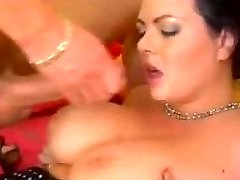 Great Cumshots on Monstrous Tits 38