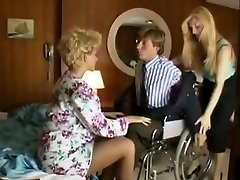 Sharon Mitchell, Jay Pierce, Marco in vintage hump scene