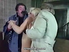 Whorey Blonde Humiliated Really Tough (1970s Vintage)
