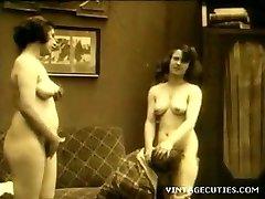 Εκλεκτής ποιότητας δεκαετία του 1920 Πραγματικό ομαδικό Σεξ Παλιό+Young (1920 Ρετρό)