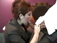 Smoking vintage slut