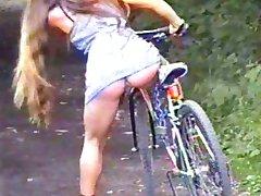 ohne Deslizamiento beim Fahrrad fahren