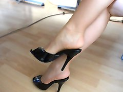 Feet in Nylon - Video 6