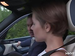 Young German Driving Learner