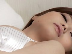 Sweet Japanese babe, Nao, provides solo scenes