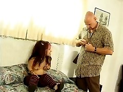 Lil'Rocker Bitch Bridget Powers Hard Fucked