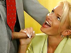 Nicoletta Blue-Secretary fucked in the Office
