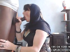 Submissive Arab Wife Pleasing Her Husband