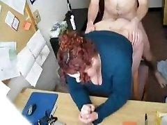 HOT FUCK #57 (Punapea BBW Sekretär Kontoris)