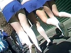 Cheerleaders Slipje Upskirt