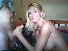 Esposa quente boquete e tratamentos faciais compilação