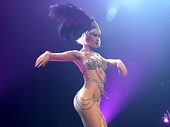 Burlesque Striptease