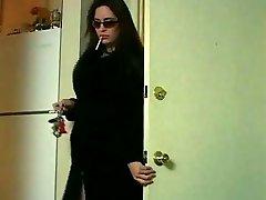 Cougar Miss Taylor smoking & groping