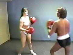 Big Boob Wrestling and Boxing