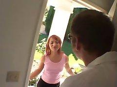 Katja Kassin Kinky redhead tied up and ass fucked