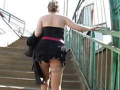 Tan Stockings Upskirt 2