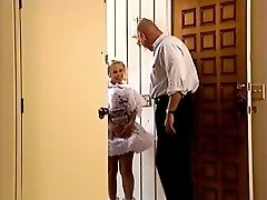 Tiny Big Titted Cutie Fucked By Old Man