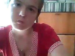 Rusko dekle utripa na cam