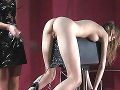 BDSM scene with Beata Undine