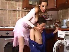 Russian Women Entice Young Guy For Fucking,By Blondelover