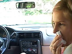 tiffany rousso BJ in a car