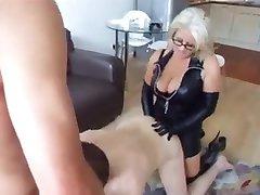 blonde mature fucks her husband