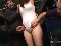 Yayoi Yoshino Caught in Bus Gangbang Part 2 (Uncensored JAV)