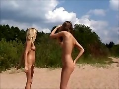 Nude Teens Playing at the Beach by jojg0308