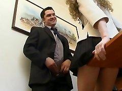 Szef i jego sekretarka