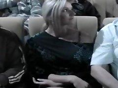 Nikki Rubbed In The Cinema