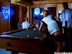 Great group sex party in the club part5