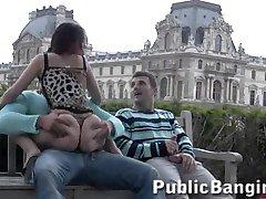 Париж Лувр публичных Групповой секс часть 2
