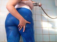 Big Ass Wet Spandex 2