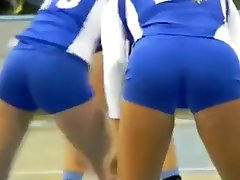 TRIBUTE TO VOLLEYBALL GIRLS CAMEL TOE AND ASSES HIDDEN CAM