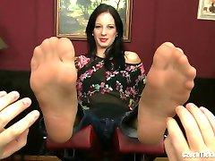 Mila Nylon Tickling
