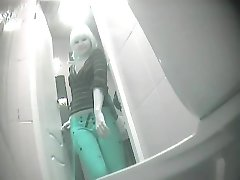 pissing in toilet 106