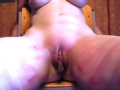 Amateur Slave Session whip