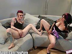 BurningAngel Joanna Angel and Alt Babe Masturbate together
