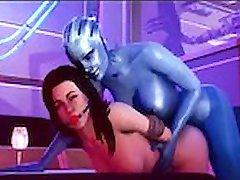 Liara Tsoni Compilación - Efecto de la Masa de Andrómeda 3D
