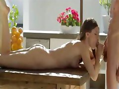 fucking and oral sex with brunette