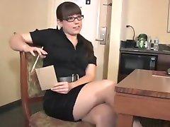 news lady in bondage